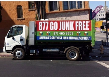 Los Angeles junk removal Go Junk Free America