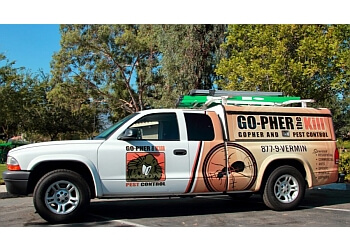 Riverside pest control company Go-Pher The Kill, Inc.
