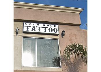 Costa Mesa tattoo shop Gold Rush Tattoo