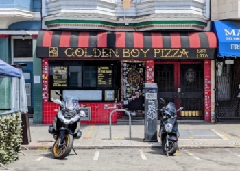 San Francisco pizza place Golden Boy Pizza
