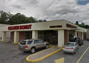 Columbus donut shop Golden Donuts