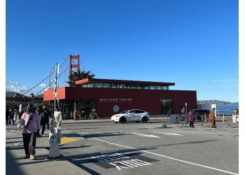 San Francisco landmark Golden Gate Bridge