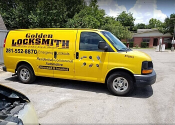 Houston locksmith Golden Locksmith