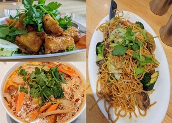 Oakland vegetarian restaurant Golden Lotus Vegan Restaurant