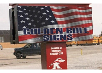 Louisville sign company Golden Rule Signs