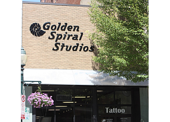 Greensboro tattoo shop Golden Spiral Studios