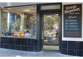 Birmingham tattoo shop Good Neighbor Body Art