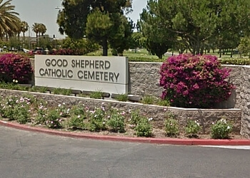 Huntington Beach funeral home Good Shepherd Cemetery