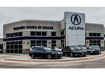Dallas car dealership Goodson Acura of Dallas