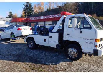 Tacoma towing company Gordon's Recovery L.L.C.
