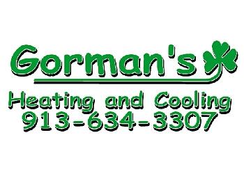 Kansas City hvac service Gorman's Heating & Cooling LLC