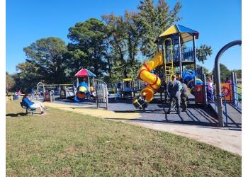Hampton public park Gosnold's Hope Park
