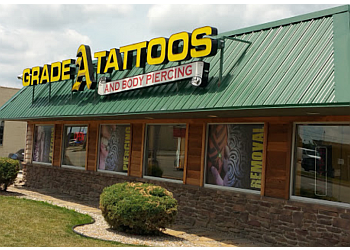 Fort Wayne tattoo shop Grade A Tattoos & Body Piercing