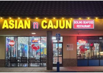 Roseville seafood restaurant Grand Asian N Cajun