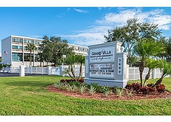 St Petersburg assisted living facility Grand Villa
