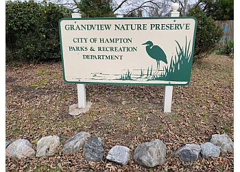 Hampton hiking trail Grandview Nature Preserve
