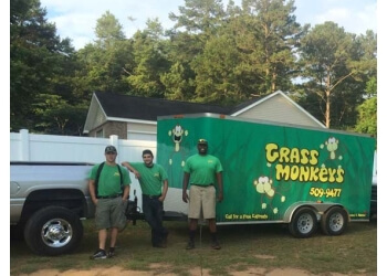 Tallahassee lawn care service Grass Monkey's