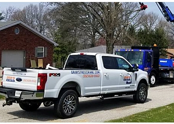 Evansville tree service  Gray's Tree and Crane Service