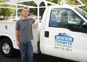 Thousand Oaks pest control company Grayson Termite & Pest Control