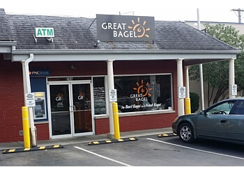 Lexington bagel shop Great Bagel