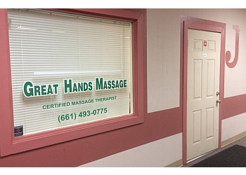 Bakersfield massage therapy Great Hands Massage