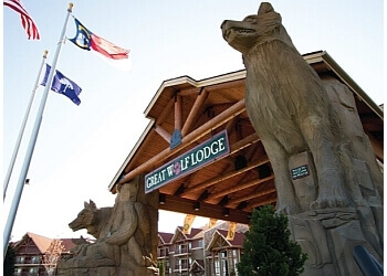 Charlotte amusement park Great Wolf Lodge