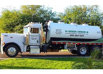 Mesa septic tank service Green Arrow Environmental Services, inc.