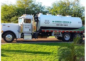 Scottsdale septic tank service Green Arrow Environmental Services, inc.