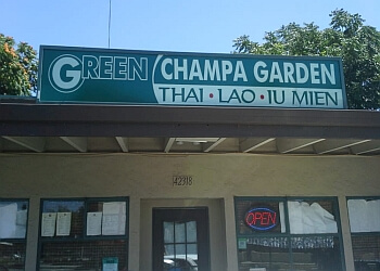 Fremont thai restaurant Green Champa Garden