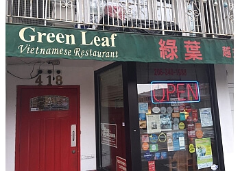 Seattle vietnamese restaurant Green Leaf vietnamese restaurant