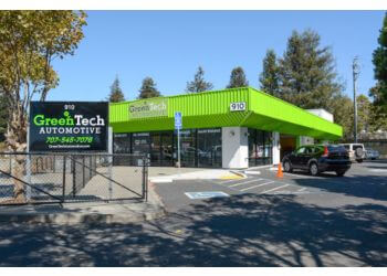 Santa Rosa car repair shop GreenTech Automotive