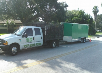 St Petersburg lawn care service Green Thing Lawn Care