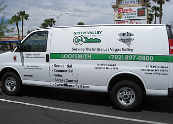 Henderson locksmith Green Valley Lock & Safe, Inc.