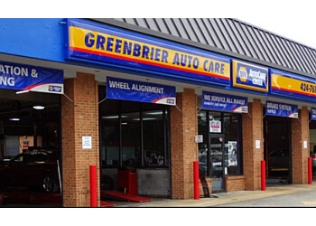Chesapeake car repair shop Greenbrier Auto Care Center