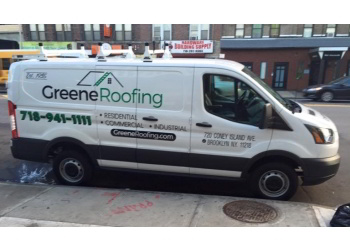 New York roofing contractor Greene Roofing