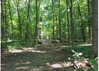 Milwaukee hiking trail Greenfield Park