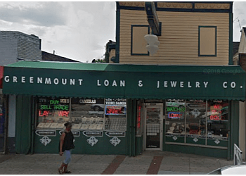 Baltimore pawn shop Greenmount Loan and Jewelry