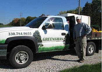 Akron lawn care service Greensman Inc.