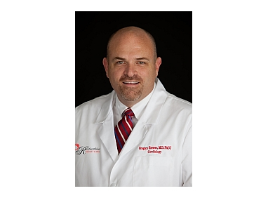 Knoxville cardiologist Gregory V. Brewer, MD, FACC