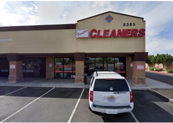Peoria dry cleaner Greg's Frontier Cleaners