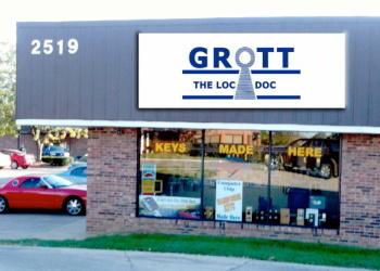 Lexington locksmith Grott Locksmith Center Inc.