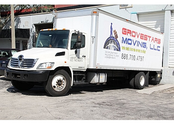 Hollywood moving company GroveStars Moving, LLC