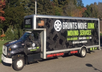 Worcester moving company Grunts Move Junk and Moving