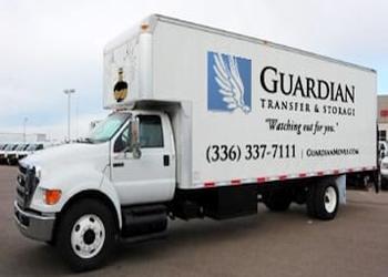 Winston Salem moving company Guardian Moves & Storage