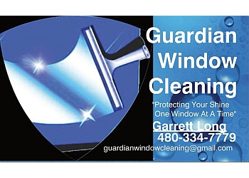 Gilbert window cleaner Guardian Window Cleaning
