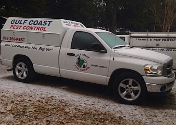 Mobile pest control company Gulf Coast Pest Control