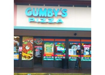 Gainesville pizza place Gumby's Pizza