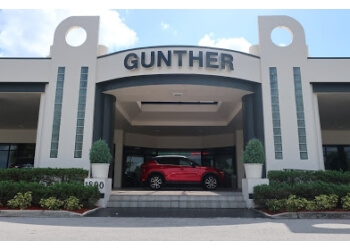 Fort Lauderdale car dealership Gunther Mazda