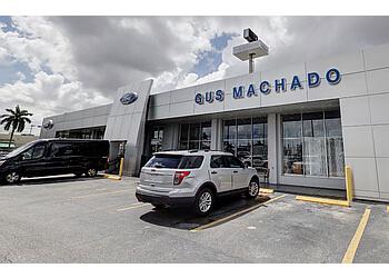 Hialeah car dealership Gus Machado Ford