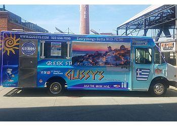 Durham food truck Gussy's Place Greek Street Food